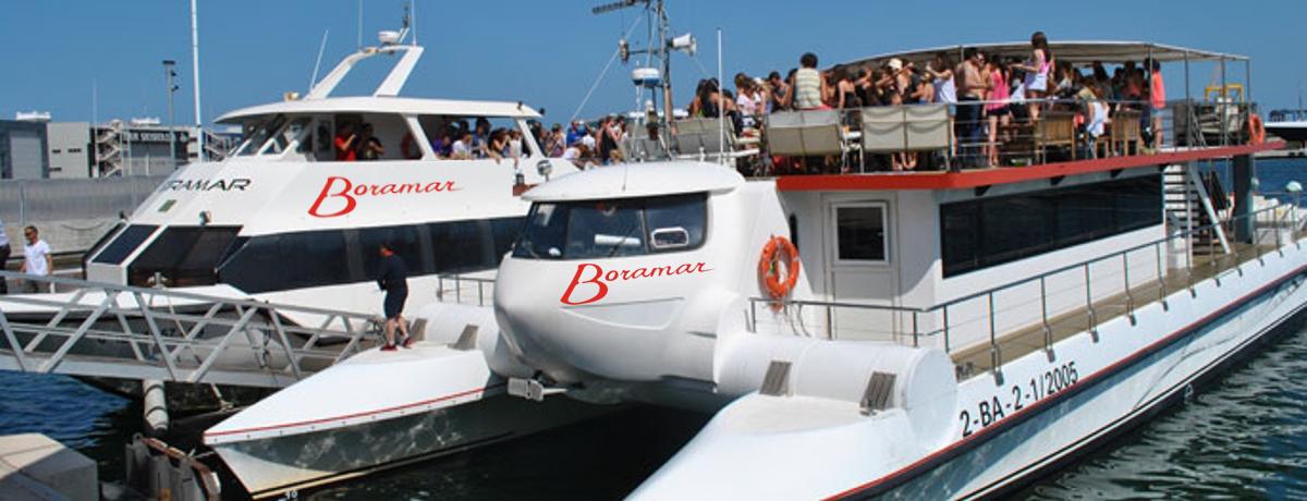 fiestas en barco y catamarán en Valencia y Gandía